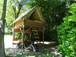 Les vacances en camping dans les Cévennes