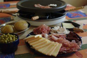 La raclette de fromage de montagne