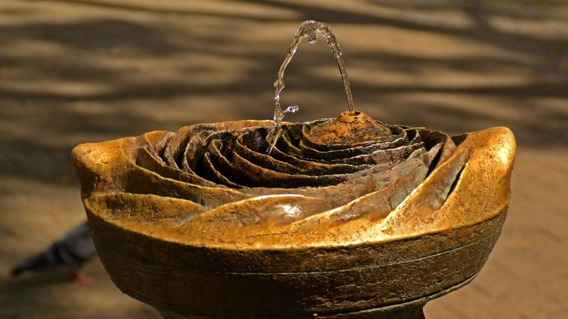 Ma fontaine d'intérieur